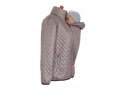 Quilted jacket cappuccino