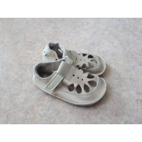 Baby Bare Shoes IO Gold- Summer Perforation