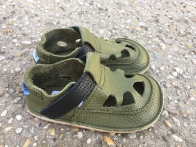 Baby Bare Shoes IO Bosco - Summer Perforation