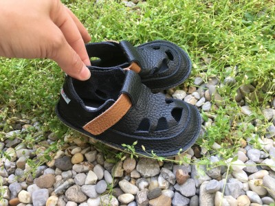 Baby Bare Shoes IO Lion - Summer Perforation