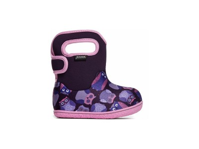 Baby Bogs Owls Purple