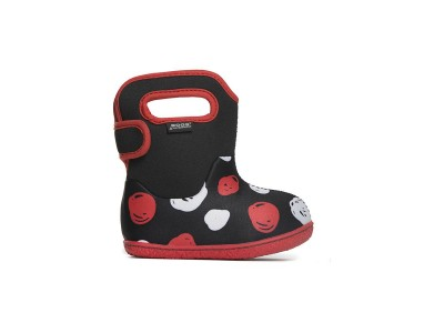 Baby Bogs Sketched Dots Black