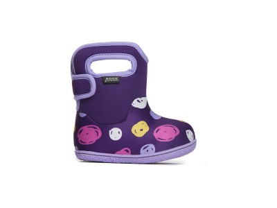 Baby Bogs Sketched Dots Purple