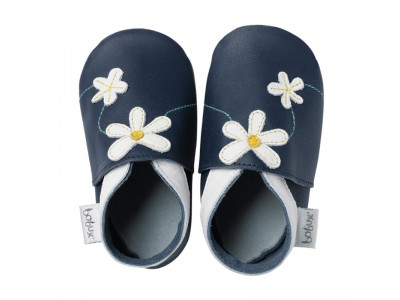 Bobux Soft Sole Daisy Chain Navy