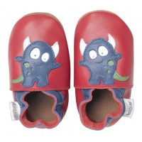 Bobux Soft sole Red Little Monster