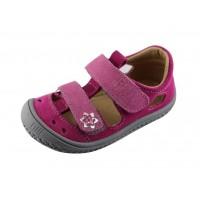 Filii Barefoot Sandaalid Pink/Rose Flower Klett M