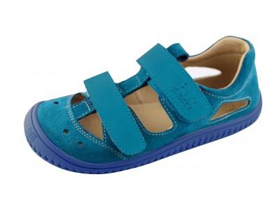 Filii Barefoot Sandaalid Turquoise Klett W