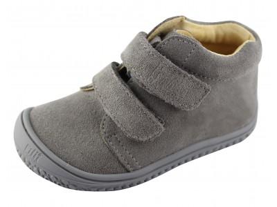 Filii Barefoot Grey/Stone Velours W - veekindel mudel
