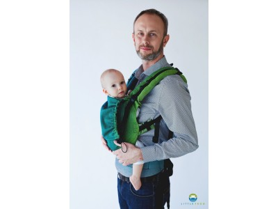 Little Frog Ergonomic Carrier - Dark Bazzite 1