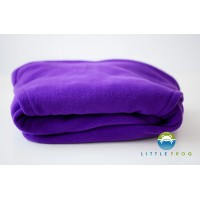 Fleece Cover - Cosy Frog PURPLE