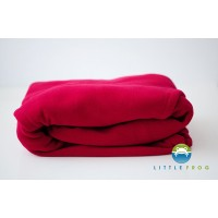 Fleece Cover - Cosy Frog RED