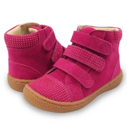 Livie and Luca JAMIE High-Top Sneaker Magenta Sparkle
