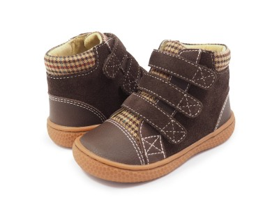 Livie and Luca JAMIE High-Top Sneaker Mocha
