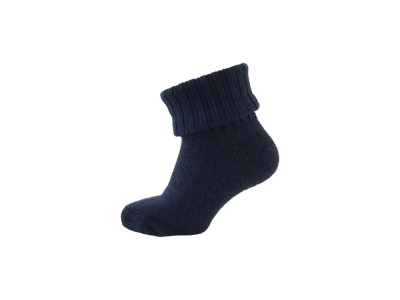 Basic Sock - Wool w/Rib Shaft - Marine