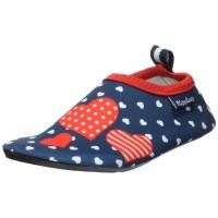 Playshoes Aqua-Slippers Hearts