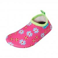 Playshoes Aqua-Slippers Flowers
