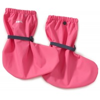 Playshoes Rain Footies with Fleece Lining Pink