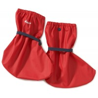 Playshoes Rain Footies with Fleece Lining Red