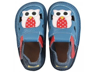 Tikki Barefoot sandals - Happy owl