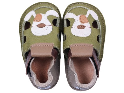 Tikki sandals - Smiley puppy