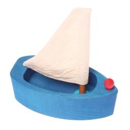Väike purjepaat, sinine
