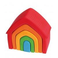 Maja, värviline