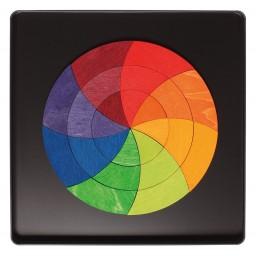 Goethe magnetpusle värvilise ringi kujul
