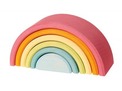 Pastel Rainbow, 6 pieces