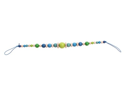 Pram Chain, blue-green