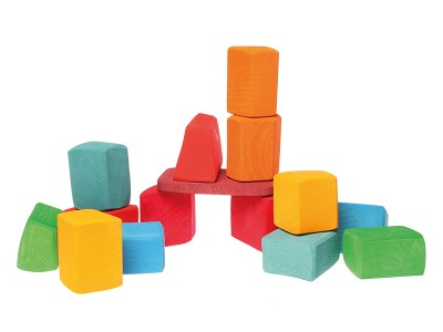 15 Blocks, coloured