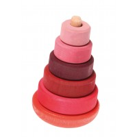 Wobbly Stacking Tower, pink