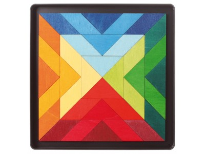 Magnet Puzzle Square Indian