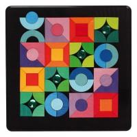 Magnet Puzzle Triangle, Square, Circle
