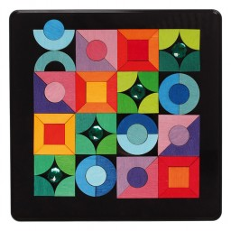 Magnet Puzzle Triangle, Square, Circle
