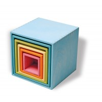 Large Set of Boxes, pastel