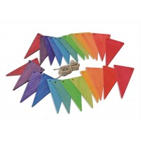 Pennant Banner, rainbowcolours
