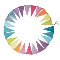 Pennant Banner, pastel