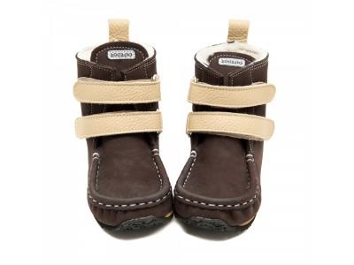 YETI Brown-beige in waterproof leather - 6mm tald - Regular