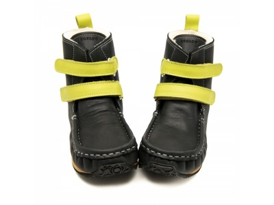 YETI Black with yellow in waterproof leather	- 6mm tald Regular