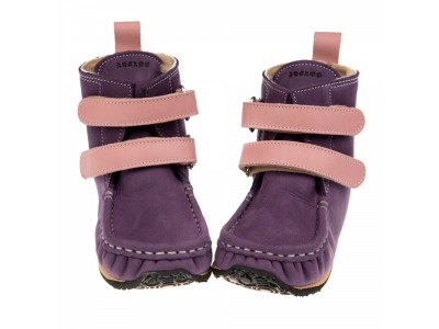 YETI Purple with pink in waterproof leather - 6mm tald - Regular
